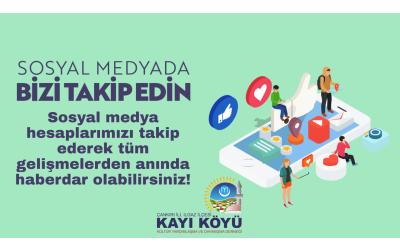 Sosyal Medya'da Bizi Takip Edin!