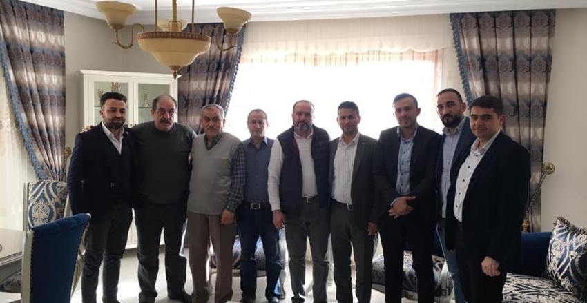 Ankara Dernek Başkanına Ziyaret